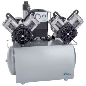 Compresores dentales y sistemas de aspiración